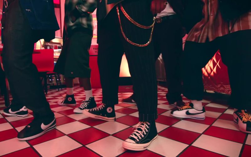 Converse and Nike Shoes in Please Me by Cardi B & Bruno Mars (1)