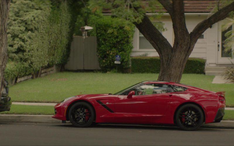 Corvette Stingray Red Car in The Neighbor (1)