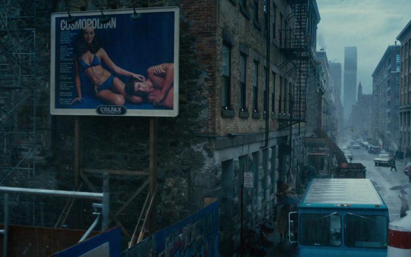 Cosmopolitan (Magazine) Billboard in On the Basis of Sex (1)