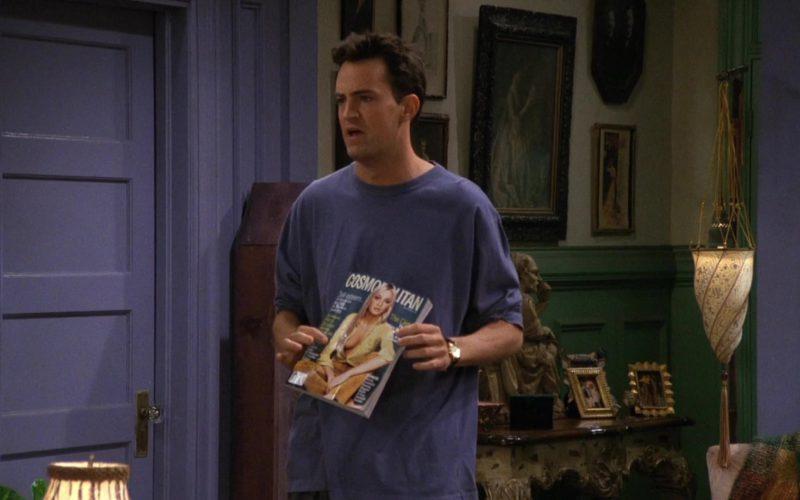 Cosmopolitan Magazine Held by Matthew Perry (Chandler Bing) in Friends Season 3 Episode 2 (1)