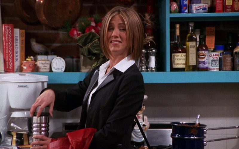 Cuisinart Coffee Machine Used by Jennifer Aniston (Rachel Green) and Hennessy Cognac in Friends (1)