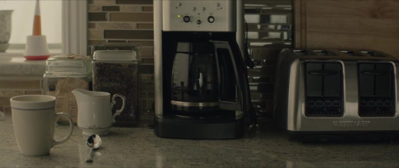 Cuisinart Coffee Maker & Farberware 4-Slice Toaster in The Neighbor (2018) - Movie Product Placement