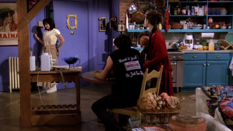 "Diesel Vest Worn by Matt LeBlanc (Joey Tribbiani) in Friends Season 1 Episode 1 ""Pilot"" (1994) TV Show Product Placement"
