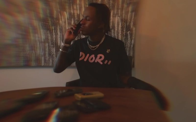 "Dior T-Shirt in ""4 Phones"" by Rich The Kid (1)"