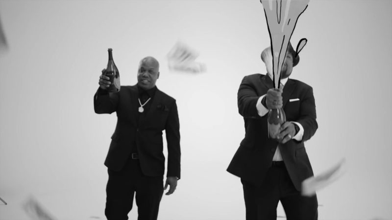 Dom Pérignon Champagne in Ain't Got No Haters by Ice Cube ft. Too Short (2019) - Official Music Video Product Placement