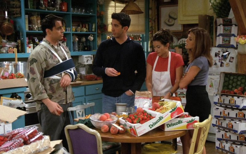 Driscoll's Strawberries Boxes in Friends Season 3 Episode 3 The One With the Jam (2)