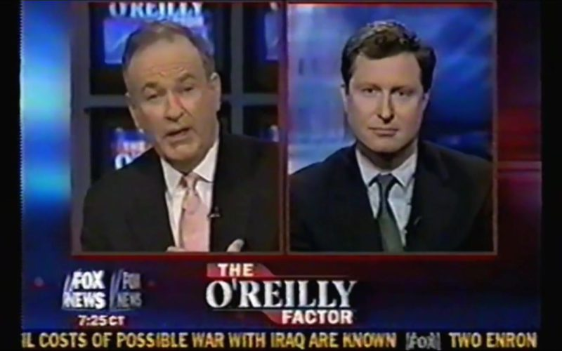 FOX News The O'Reilly Factor Talk show in Vice