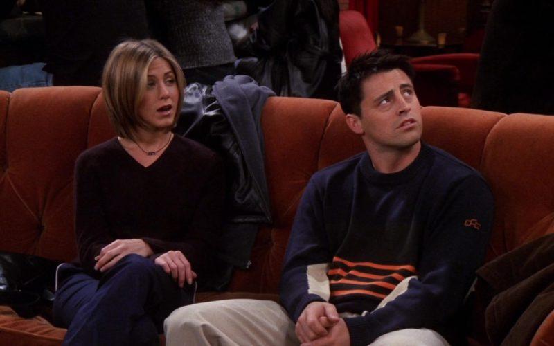 Foursquare Sweater Worn by Matt LeBlanc (Joey Tribbiani) in Friends Season 7 Episode 7 (1)