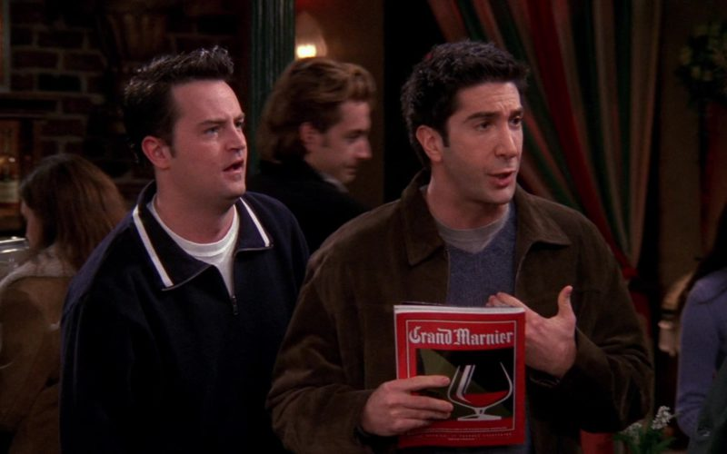 Grand Marnier Liqueur Magazine Cover Advertising in Friends Season 6 Episode 12 (1)