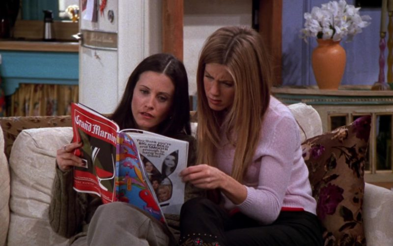 Grand Marnier & Playboy Magazine Held by Courteney Cox (Monica Geller) in Friends Season 6 Episode 12 (1)