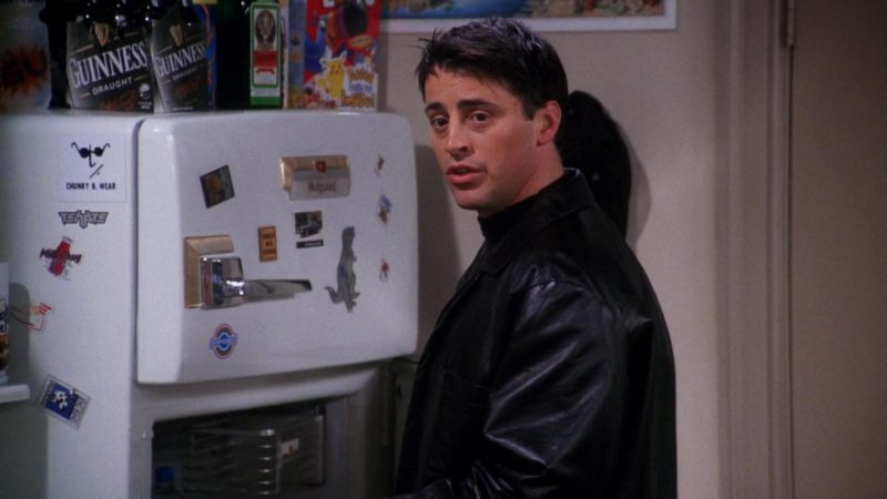 """Guinness Draught Beer and Jägermeister in Friends Season 7 Episode 11 """"The One with All the Cheesecakes"""" (2001) - TV Show Product Placement"""