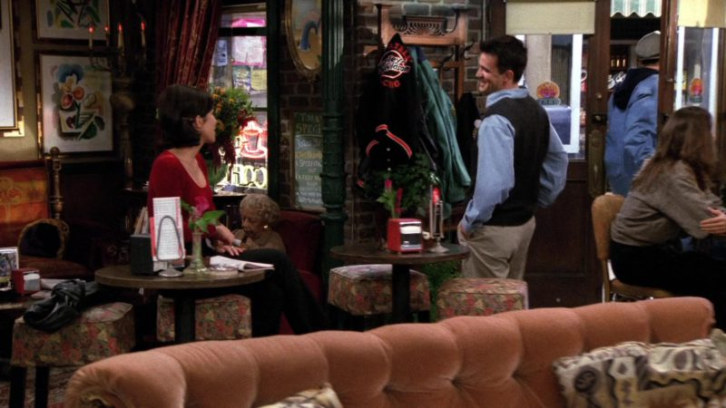 "Harley-Davidson Jacket in Friends Season 2 Episode 14 ""The One with the Prom Video"" (1996) TV Show"