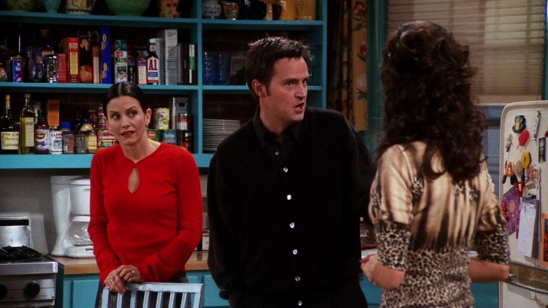 Hennessy Cognac & A 1  Sauce in Friends Season 7 Episode 7