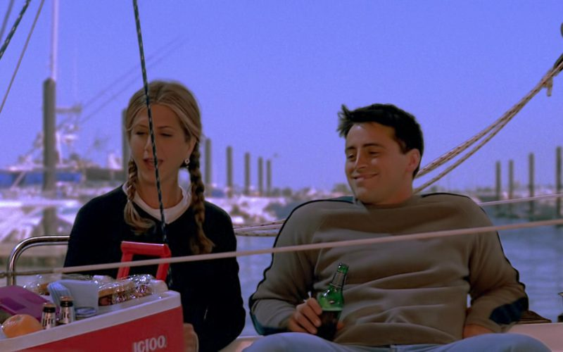 Igloo Cooler Used by Jennifer Aniston (Rachel Green) & Matt LeBlanc (Joey Tribbiani) in Friends (2)