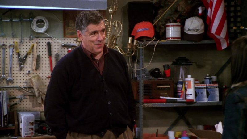 "Jägermeister White Cap and Sylvania in Friends Season 7 Episode 13 ""The One Where Rosita Dies"" (2001) TV Show Product Placement"