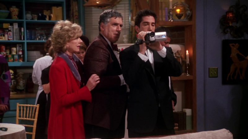 "JVC Camcorder Used by David Schwimmer (Ross Geller) in Friends Season 7 Episode 14 ""The One Where They All Turn Thirty"" (2001) - TV Show Product Placement"