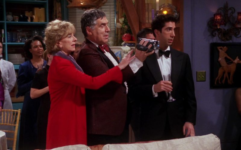 JVC Camcorder Used by Elliott Gould (Jack Geller) in Friends Season 7