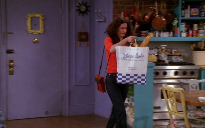 Jefferson Market Paper Bag Held by Courteney Cox (Monica Geller) (2)