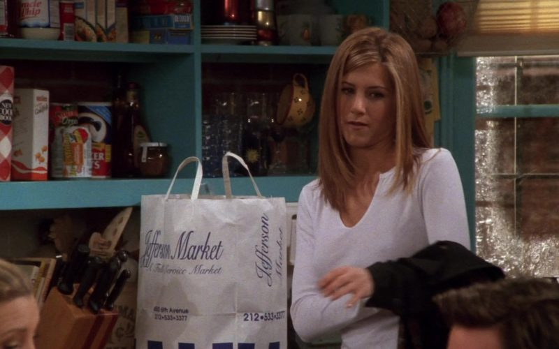Jefferson Market Store Paper Bag in Friends Season 4 Episode 11 (1)