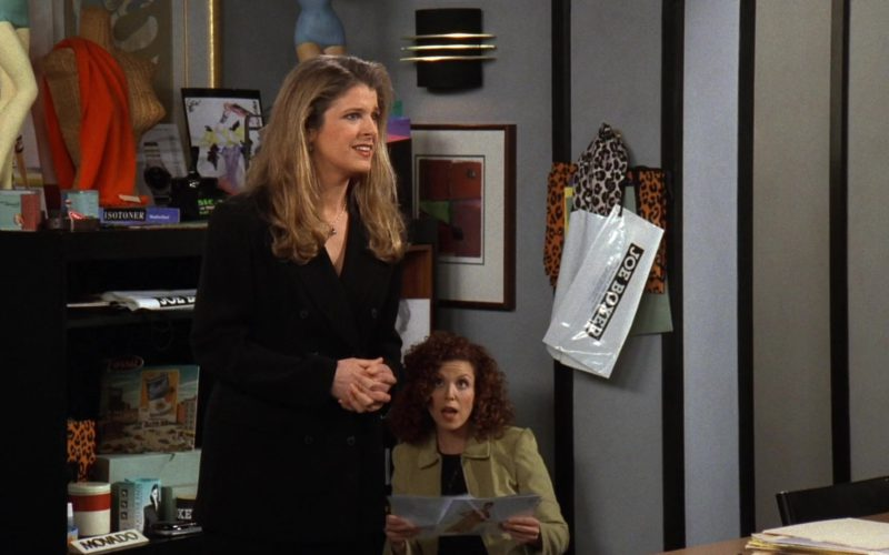 Joe Boxer Underwear Plastic Bag in Friends Season 3 Episode 20 (1)