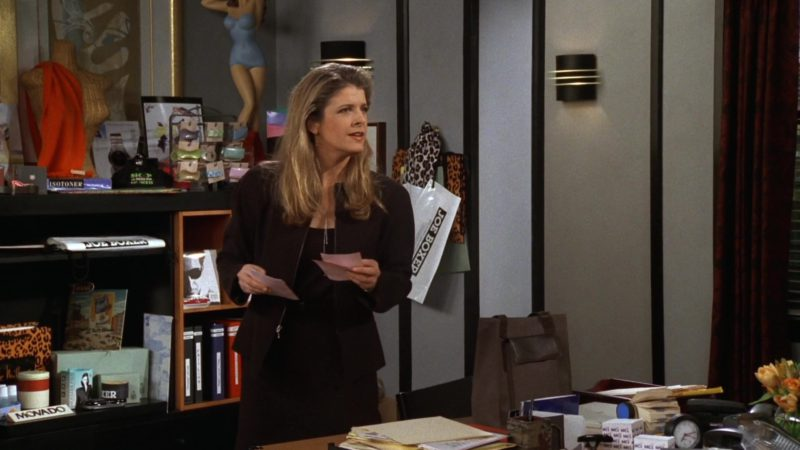 """Joe Boxer Underwear Plastic Bag in Friends Season 3 Episode 20 """"The One With the Dollhouse"""" (1997) - TV Show Product Placement"""