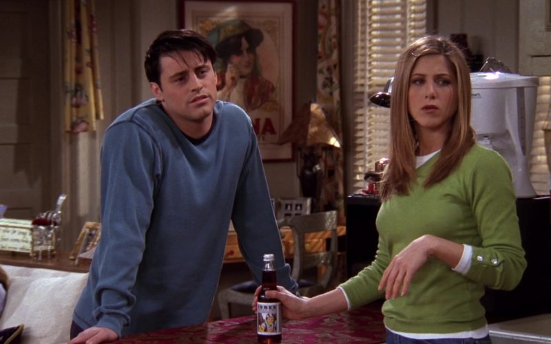 Jones Soda Held by Jennifer Aniston (Rachel Green) in Friends Season 4 Episode 16