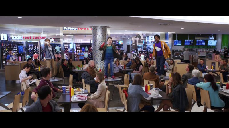Kids Foot Locker Store in Good Boys (2019) Movie Product Placement
