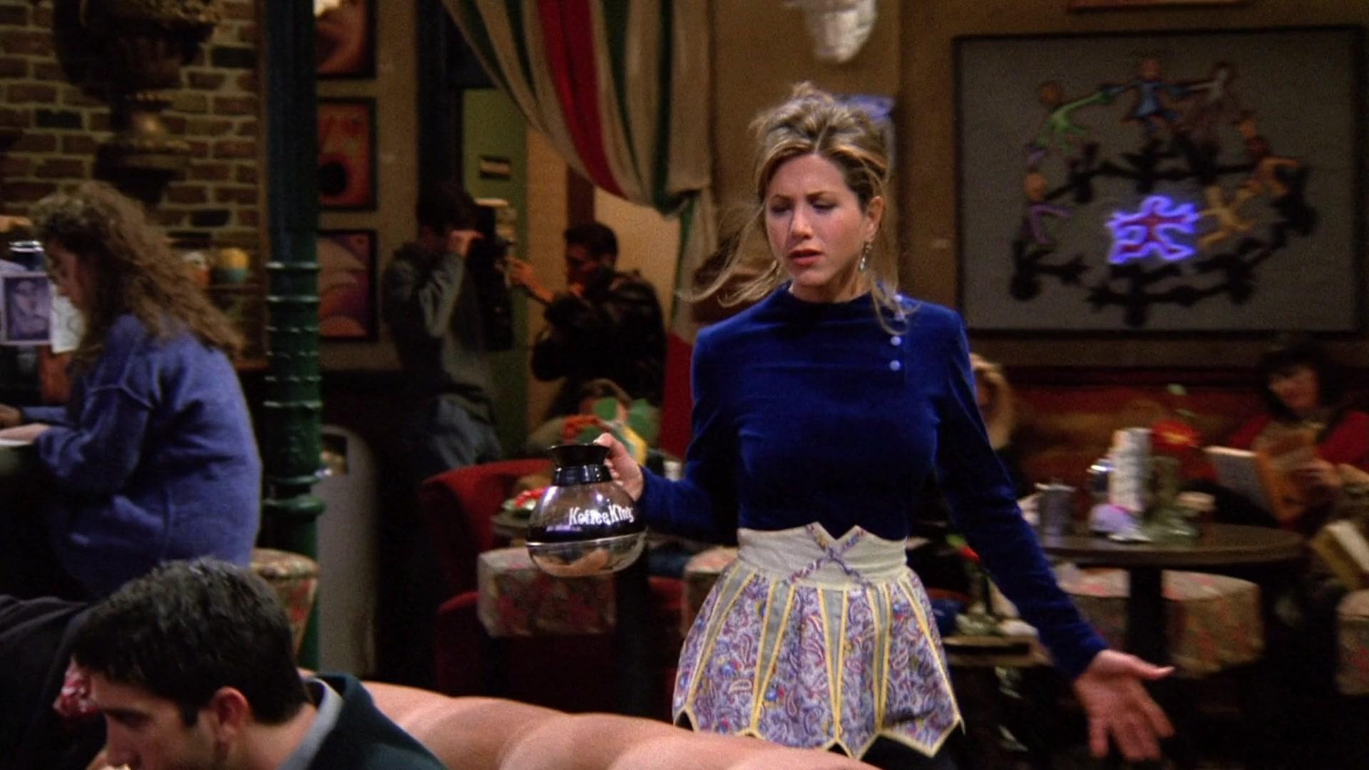 Koffee King Held by Jennifer Aniston (Rachel Green) in