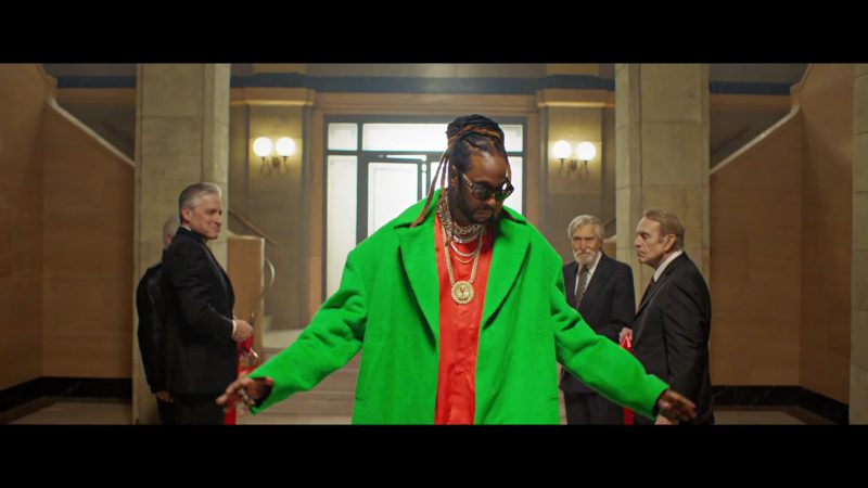 LV Sunglasses Worn by 2 Chainz in Money In The Way (2019) Official Music Video Product Placement