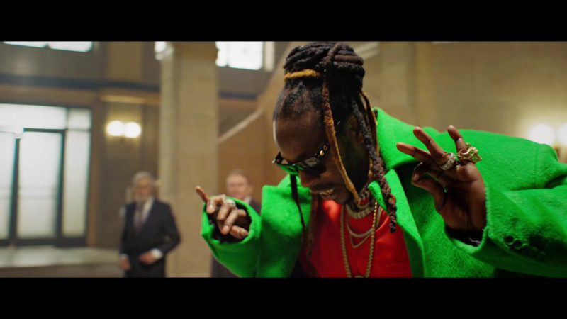 LV Sunglasses Worn by 2 Chainz in Money In The Way (2019) - Official Music Video Product Placement
