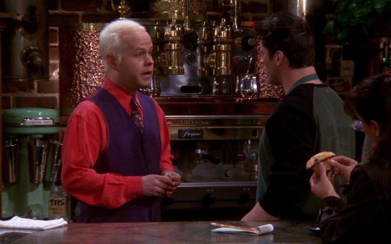La Cimbali M30 Classic Espresso Machine in Friends Season 6 Episode 13