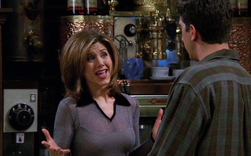 La Cimbali Professional espresso coffee machine used in Central Perk coffee shop in Friends Season 2 Episode 14
