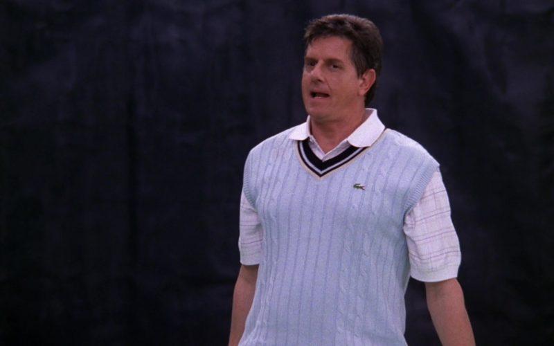 Lacoste Men's Golf Sweater Vest in Friends Season 5 Episode 12 (3)