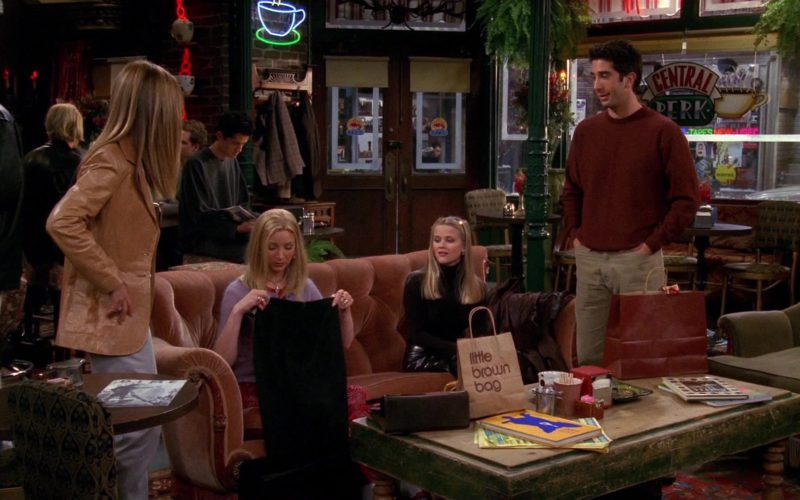 Little Brown Bag by Bloomingdale's Store in Friends Season 6 Episode 13