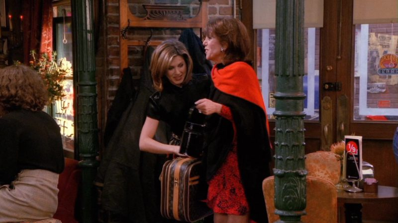 "Louis Vuitton Bag Used by Marlo Thomas (Sandra Green) in Friends Season 2 Episode 11 ""The One with the Lesbian Wedding"" (1996) - TV Show Product Placement"