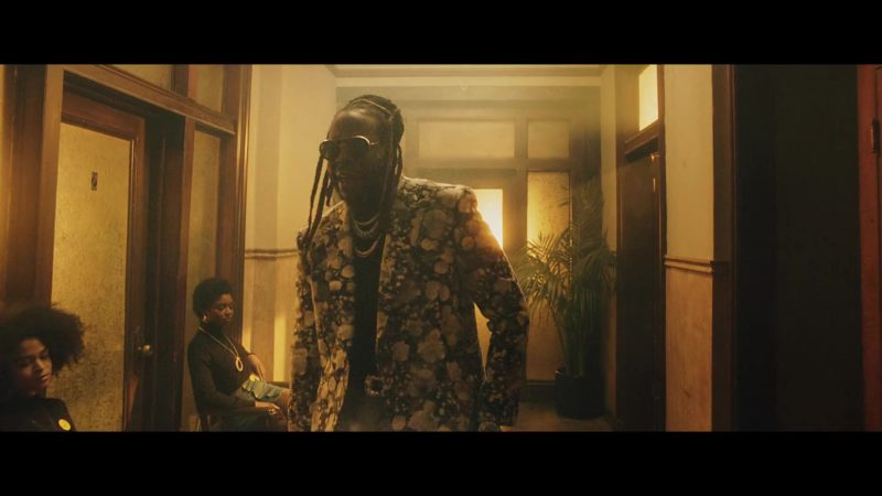 Louis Vuitton Double Breasted Jacket Worn by 2 Chainz in Money In The Way (2019) Official Music Video