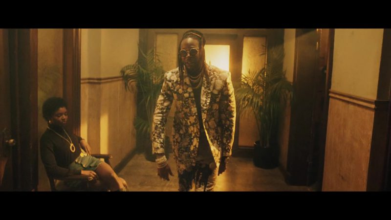 Louis Vuitton Double Breasted Jacket Worn by 2 Chainz in Money In The Way (2019) Official Music Video Product Placement