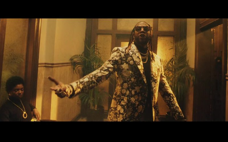 Louis Vuitton Double Breasted Jacket Worn by 2 Chainz in Money In The Way (7)