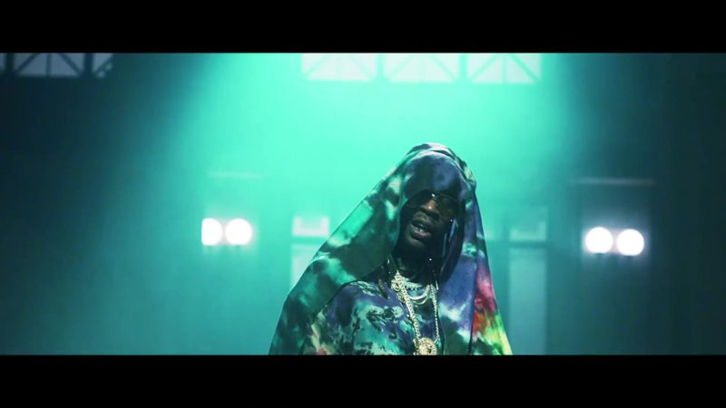Louis Vuitton Scarf Worn by 2 Chainz in Money In The Way (2019) Official Music Video Product Placement