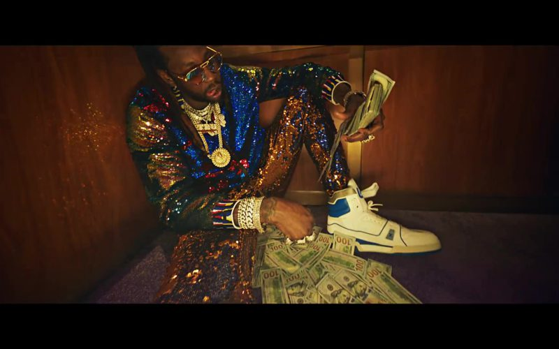 Louis Vuitton Trainer Sneaker Boot Worn by 2 Chainz in Money In The Way (5)