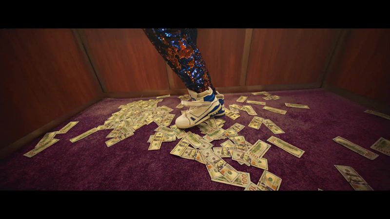 Louis Vuitton Trainer Sneaker Boot Worn by 2 Chainz in Money In The Way (2019) Official Music Video Product Placement