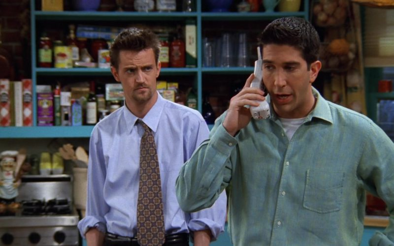 Lucent Telephone Used by David Schwimmer (Ross Geller) in Friends Season 3 Episode 24 (1)