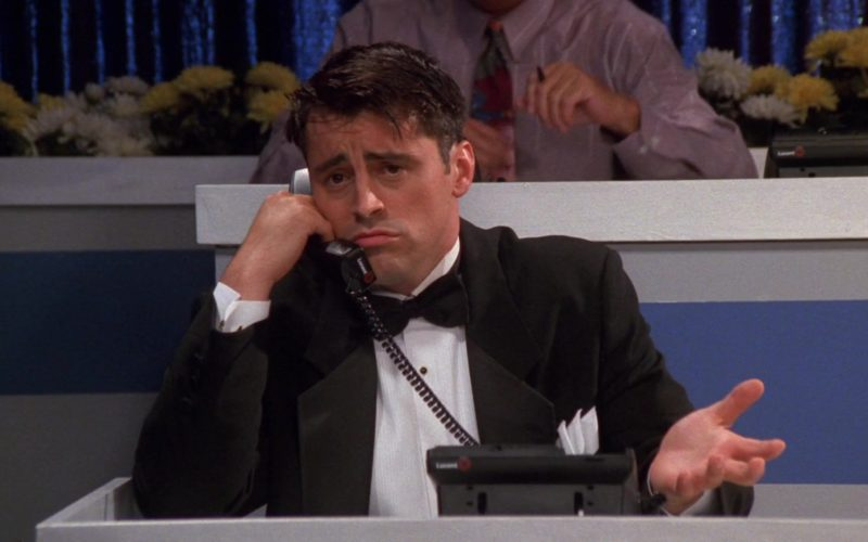 Lucent Telephone Used by Matt LeBlanc (Joey Tribbiani) in Friends Season 5 Episode 4 (3)