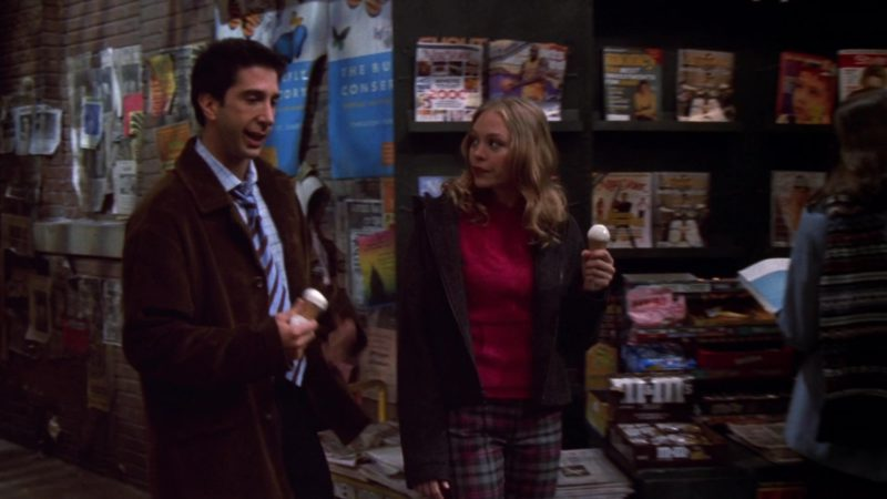 "M&M's Chocolate Candies in Friends Season 6 Episode 18 ""The One Where Ross Dates a Student"" (2000) TV Show Product Placement"