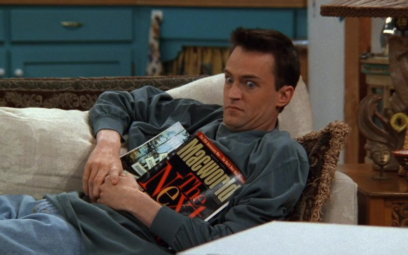 Macworld Magazine Held by Matthew Perry (Chandler Bing) in Friends Season 3 Episode 19 (1)