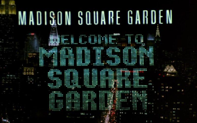 Madison Square Garden in Friends Season 2 Episode 4 (1)
