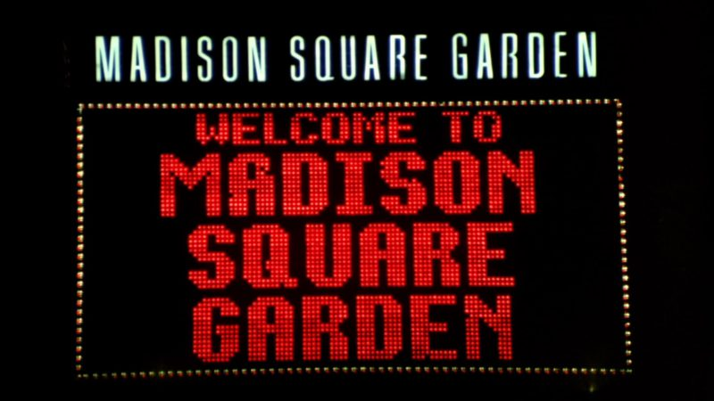 """Madison Square Garden Indoor Arena in Friends Season 2 Episode 4 """"The One with Phoebe's Husband"""" (1995) - TV Show Product Placement"""