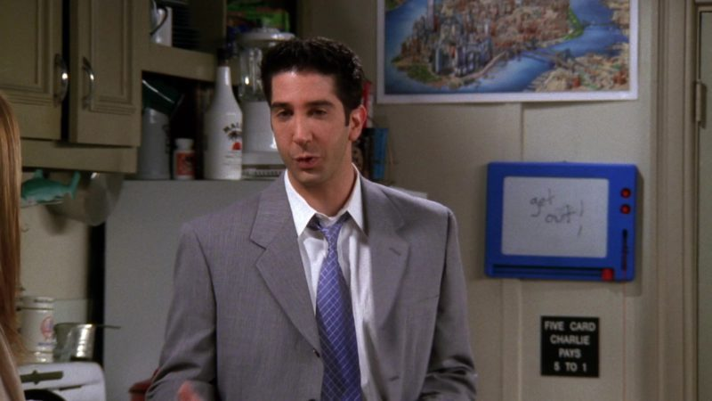 """Malibu Liqueur in Friends Season 4 Episode 21 """"The One With the Invitation"""" (1998) TV Show Product Placement"""