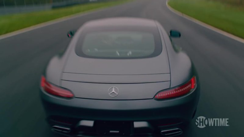 Mercedes-AMG GT Sports Car Driven by Damian Lewis (Bobby Axelrod) in Billions (Season 4, Showtime, 2019) - TV Show Product Placement