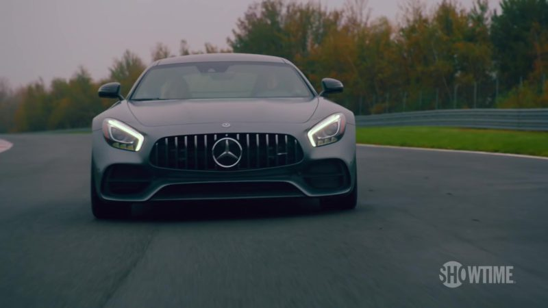 Mercedes-AMG GT Sports Car Driven by Damian Lewis (Bobby Axelrod) in Billions (Season 4, Showtime, 2019) TV Show Product Placement